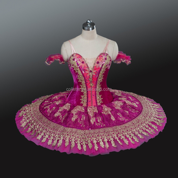 6d5e04bc7 Bly1235 Adult Hot Pink Dance Costumes Dress Classical Performance ...