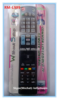 Rm-l999 3d Remote-control Use For Lg Tv Remote Factory - Buy Huayu Lcd  Remote Control,Universal Remote Controller,Lcd/led Remote Controller  Product on