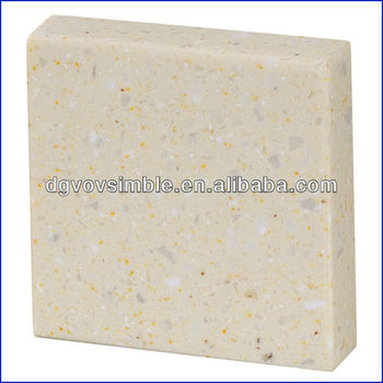 Anti Radiation Artificial Marble Kitchen Wall Materials / Outdoor Acrylic  Materials For Countertop