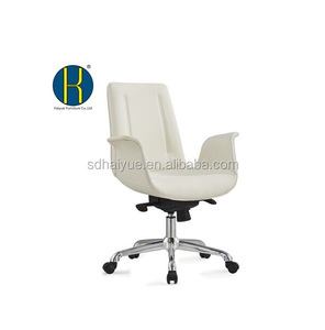 `Swan shape Office chair Real Leather Best sale stool in the world market