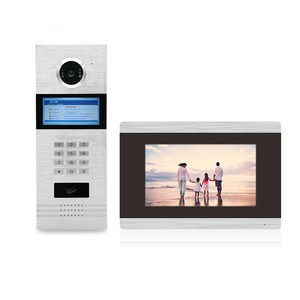 TCP/ IP SIP Video Intercom wide angle collective door phone building intercom systems