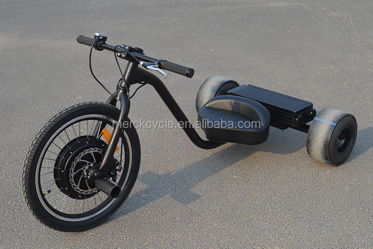 Electric powered drifting tricycle for adults buy for 50 kg thrust brushless motor