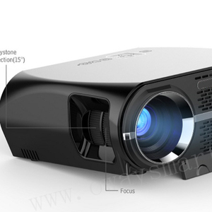 Cheapest DLP pico projector micro LED small outdoor travel projector focus lens projector