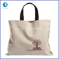 Custom eco-friendly most popular canvas tote bags wholesale