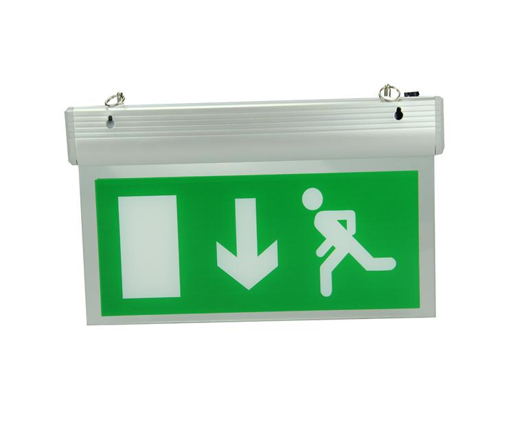 En60598-2-22 Led Remote Control 2835 Smd Emergency Lamp Exit Sign ...