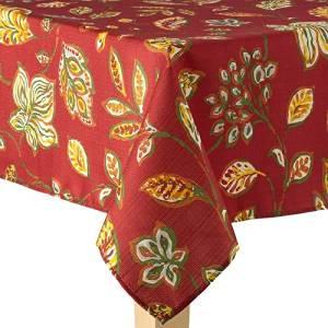 "Harvest Leaf Tablecloth - 60"" x 102"""