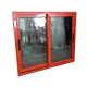 China made best design good price aluminium double glass sliding windows