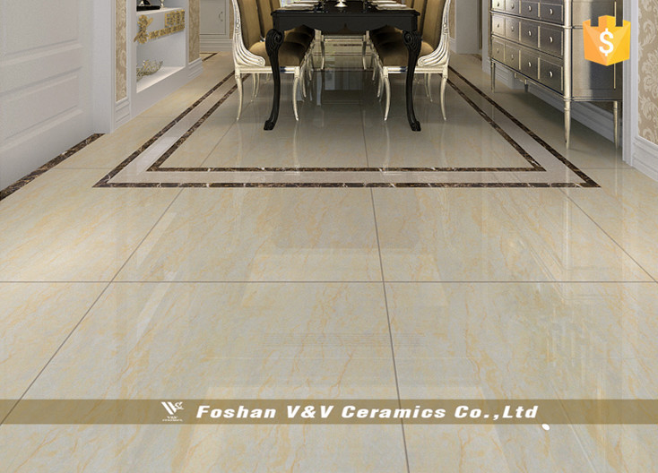 Polished Porcelain Floor Tiles For Living RoomNatural Stone 600x600mm