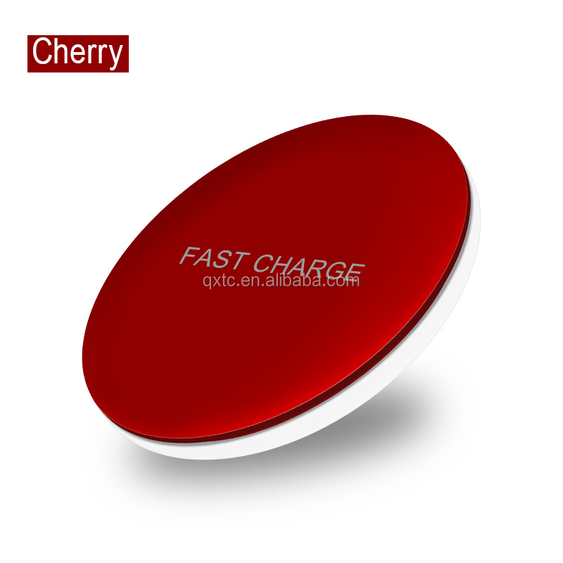 For iphone 8/plus X wireless charger 5 colors type-c usb 10W fast wireless charger for iphone and samsung