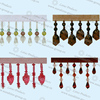 2018 Colorful Curtain Beaded Tassel Fringe 007
