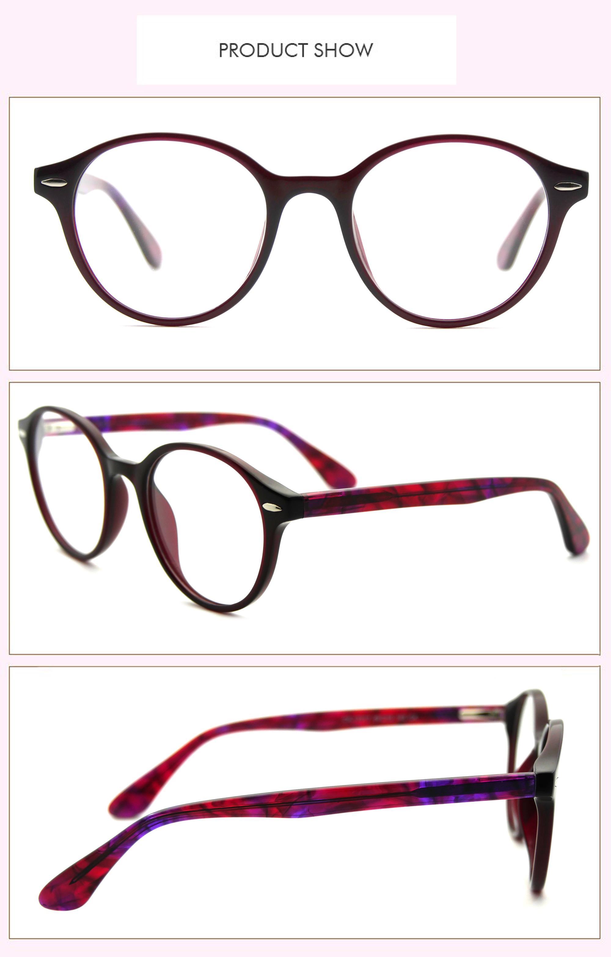 Vino Tinto Nueva Marca Acetato Gafas De Lectura Óptica Esencial ...