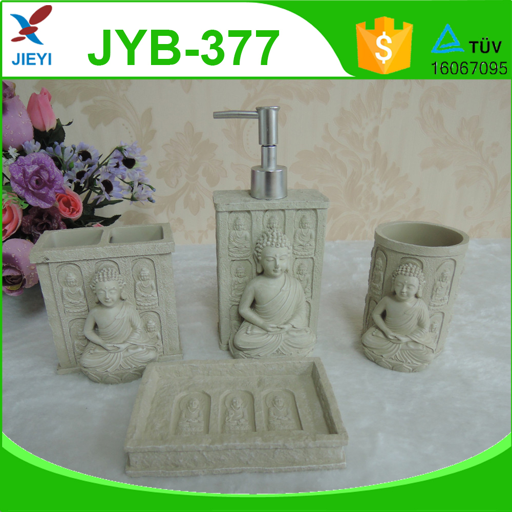 Charmant New Design Easter Stone Buddha Bathroom Set