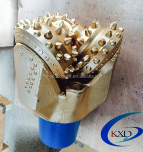 "6 1/2"" IADC 537 tricone rock drill bit for water well drilling"