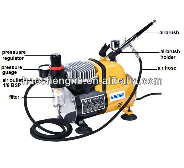 hseng as18ck mini lucht compressor 220 v