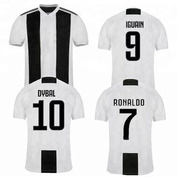 6e88a3df47b 2018-19 thai quality sublimation soccer jersey print name and number  football shirt