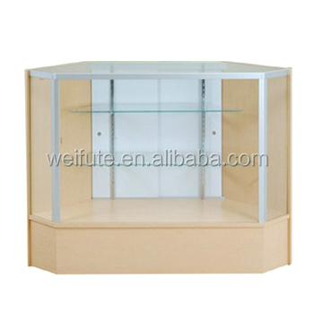 Glass Display Cabinet For Retail Store