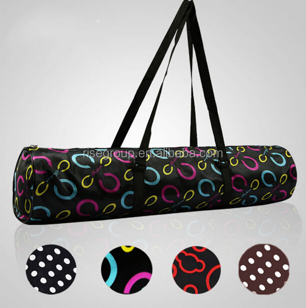 Wholesale high quality tote cotton yoga mat bag