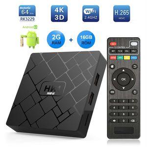 HK1 MINI Android 8 1 TV BOX Rockchip RK3229 Quad-core 2GB 16GB 2 4G wifi  H 265 4K HD TV Media Player Sep Top Box VONTAR HK1mini