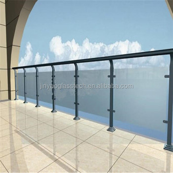 Exterior Glass Railing Frosted Glass Railing Frameless