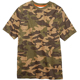 Custom wholesale printing 100% cotton short sleeve round neck camouflage mens camo army t shirt with your design