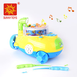 Preschool learning educational toys kids with light and music