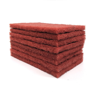 abrasive scouring pad / non-woven cloth/ cleaning and conditioning metal wood