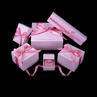 Cheap custom printed fashion jewelry gift box packaging