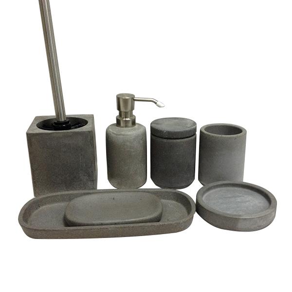 concrete bathroom accessories bathroom collections sets. Black Bedroom Furniture Sets. Home Design Ideas