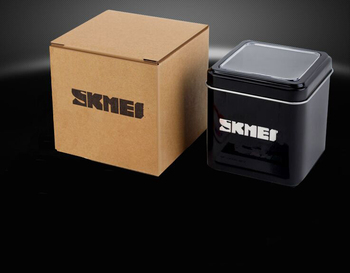 Sale Black Steel Blue Carton Gift Box Skmei Watch Box