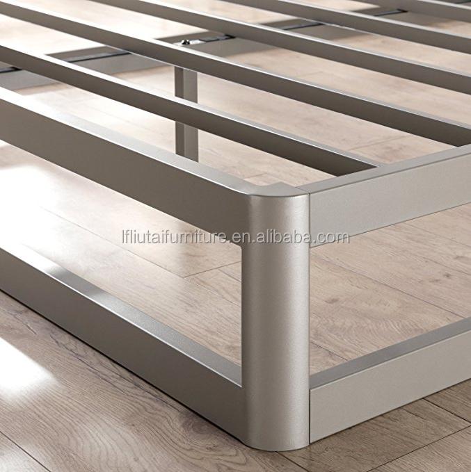 Marco De Cama Plegable Base De Cama De Metal Acero Inoxidable Alta Calidad Nuevo