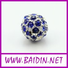 2012 beauty alloy rhinestone ball beads wholesale