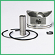 4Pfcy bitzer compressor forged piston set /bus air con spare parts oem piston rings/af cp piston ring set for good price