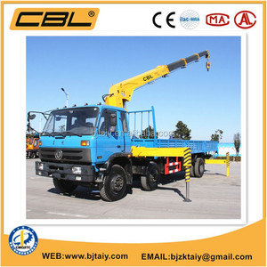 CBL truck crane with original xcgm truck mounted crane