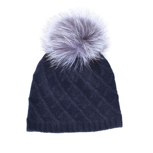 10bf173a6c1 Winter Warm Fashionable Thick Rod Hand-Knitting Tip Wool Hat
