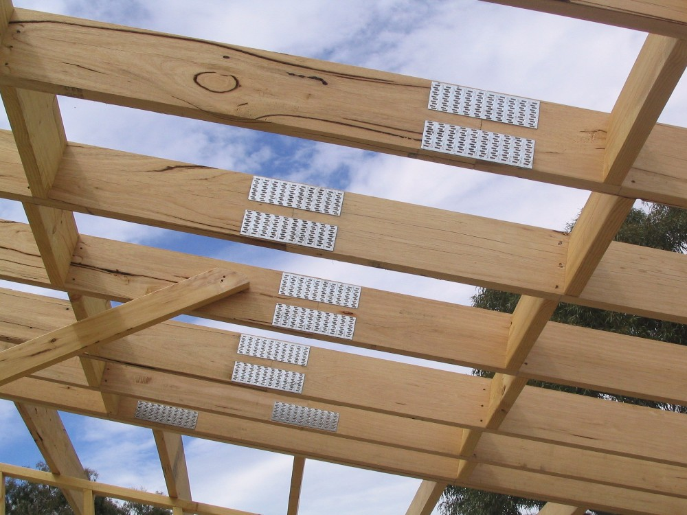 Wood Building Connector Joist Roof Standard Timber Frame