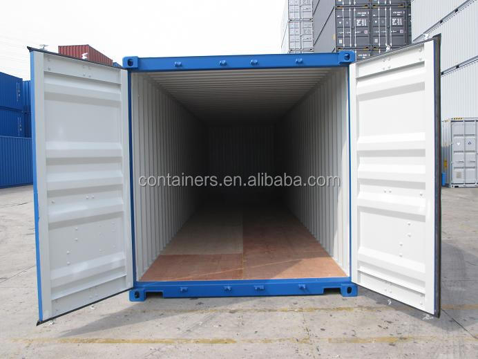 Qingdao Shanghai Tianjin Ningbo port new 40ft hq shipping container