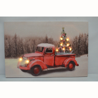 Modern Art Paintings LED Picture Christmas Canvas