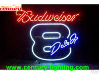 budweriser neon advertising sign
