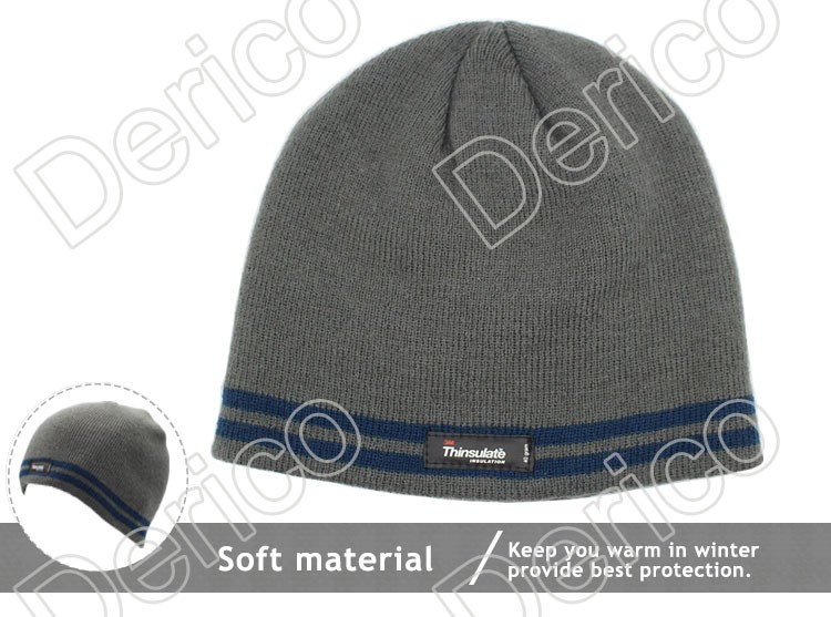 f430caf9576 3m Thinsulate Lining Solid Colour Men s Winter Hat - Buy Walmart ...