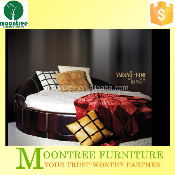Moontree MBD-1112 furniture bedroom sets round bed manufactuer and producer