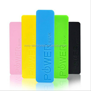 Perfume keychain Mobile universal Power bank smart phone portable phone charger 2600mah
