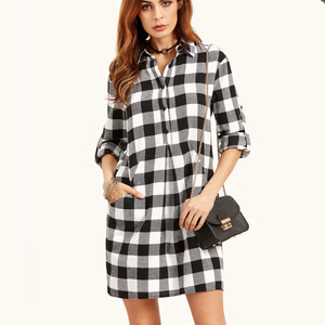 cdcf2c126d9917 China ladies checker dress wholesale 🇨🇳 - Alibaba