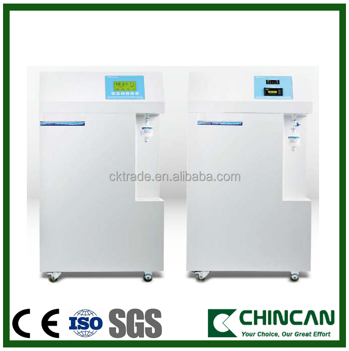 45 to 125 liters per hour ultrapure water system for high grade experiments ultrapure water
