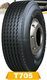 385/65R22.5 truck tire for Steer/Trailer position