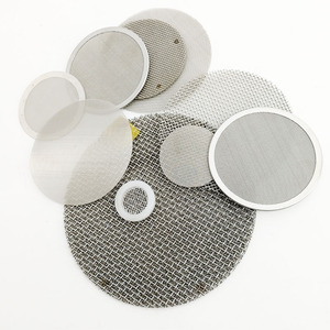 Diameter 3 inch mesh filter screen 100 10 20 2 micron pore size stainless steel filter disc