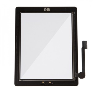 OEM for iPad 3/4 front panel touch screen glass digitizer assembly with  best quality