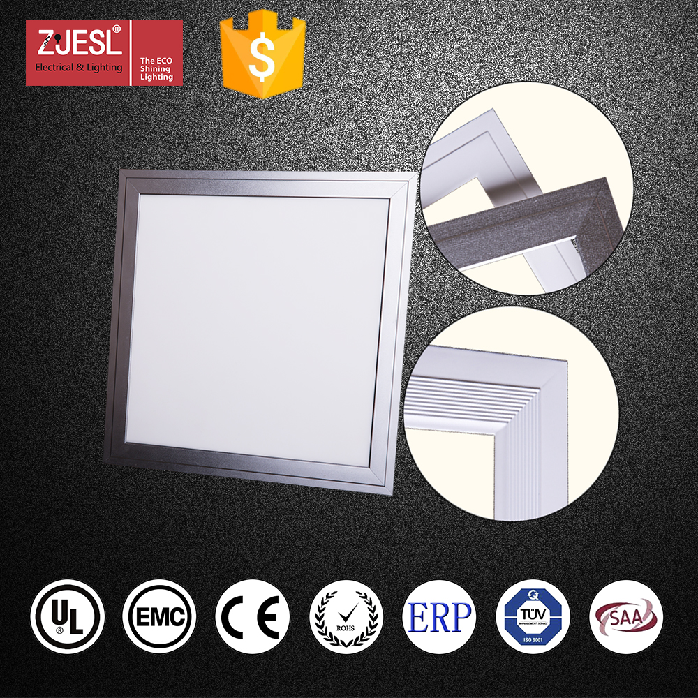 Best selling 24W 80lm/w 450 x 450 SMD2835 PF>0.95 led flat panel lighting factory