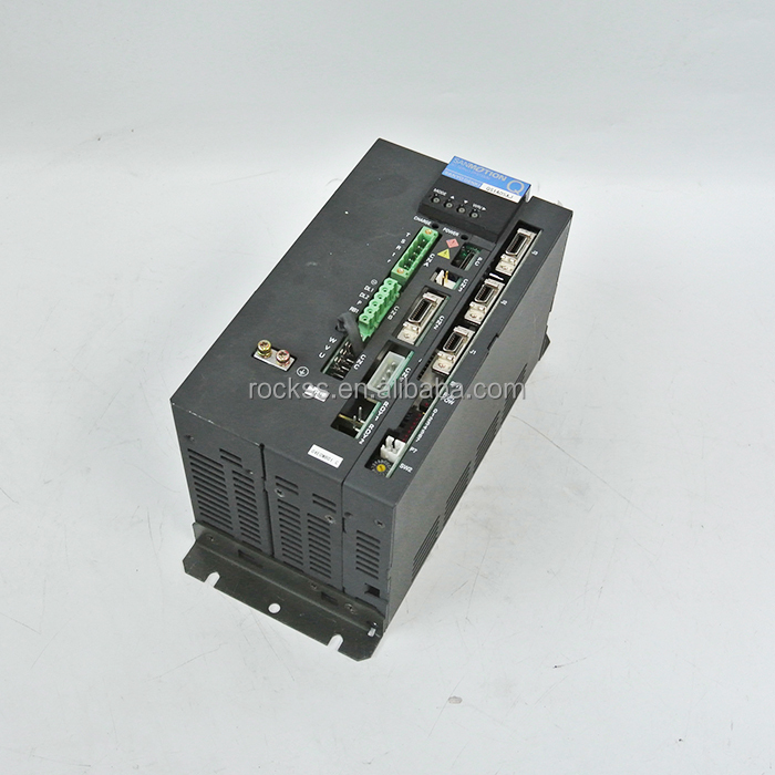 Sanyo 1.5kw item a set! QS1A05AJ04E0MB01 Servo driver & Q2AA10150HXSH6 Servo motor used in good condition