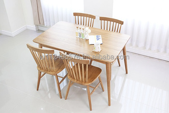 Magnificent Scandinavian And Contemporary Modern Oak Wooden Dining Table Set Buy Scandinavian And Contemporary Modern Oak Wooden Dining Table Set Product On Home Interior And Landscaping Mentranervesignezvosmurscom