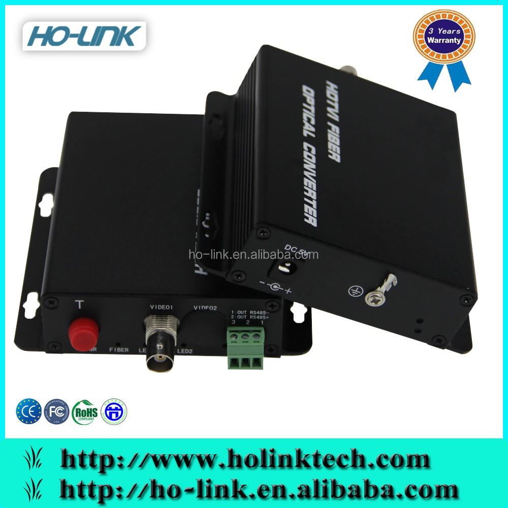 Manufacture 1 Channel Hdtvi Fiber Optic Media Converter/ Rs485 ...